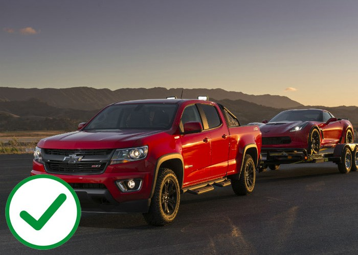 Chevrolet Colorado and GMC Canyon offer better tow capacity than the Toyota Tacoma