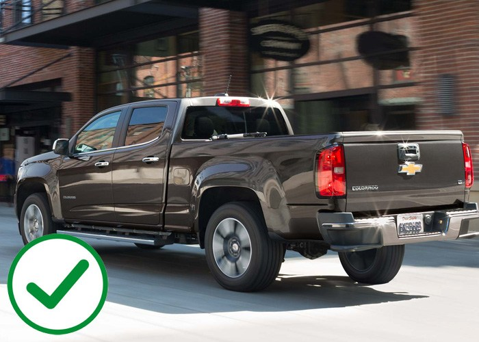 Chevrolet Colorado and GMC Canyon offer better warranty than the Toyota Tacoma