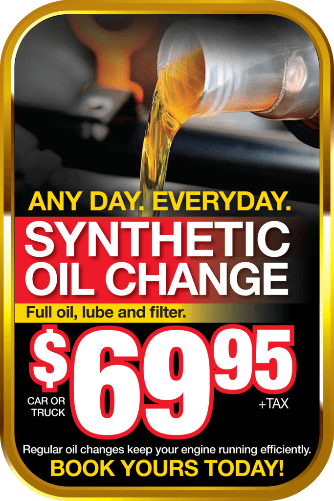 Get a full synthetic oil change in Georgetown for only $69.95 from Georgetown Chevrolet Buick GMC