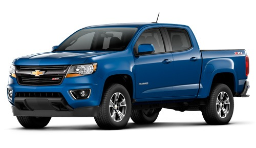 New Chevrolet Colorado truck in Georgetown Ontario