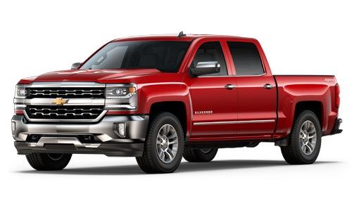 New Chevrolet Silverado 1500 truck in Georgetown Ontario