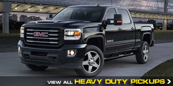 View all Chevrolet and GMC heavy duty trucks available in Georgetown