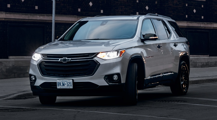 Lease a 2018 Chevrolet Traverse in Georgetown Ontario from Georgetown Chevrolet