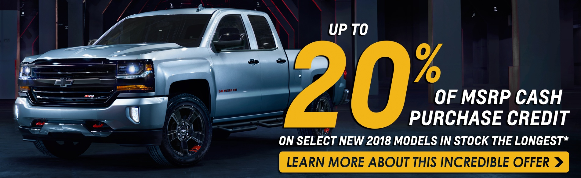 Get up to 20% off MSRP on select 2018 models in stock the longest in Gerogetown