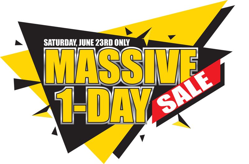 Don't miss the Massive 1 Day Sale on new Chevrolet Buick GMC vehicles in Georgetown Ontario