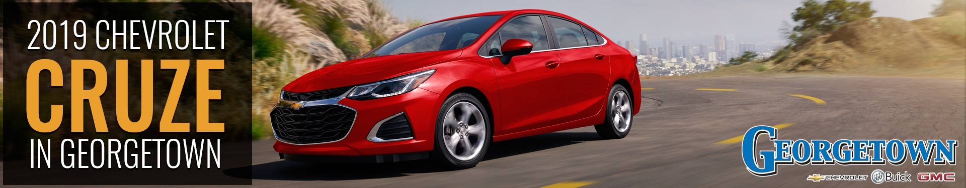 Discover the new 2019 Chevrolet Cruze in Georgetown and the Greater Toronto Area from Georgetown Chevrolet