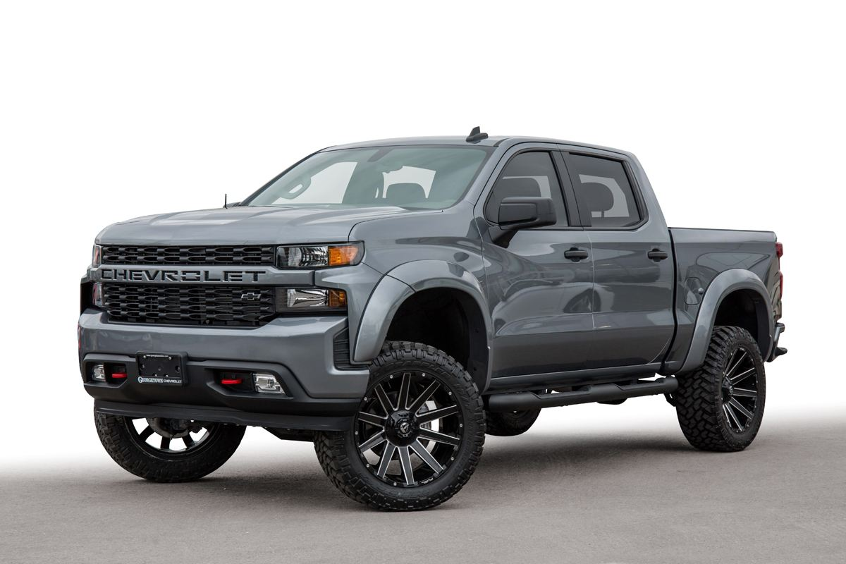 2019 Chevrolet Silverado truck from the Custom Truck & Performance Centre at Georgetown Chevrolet