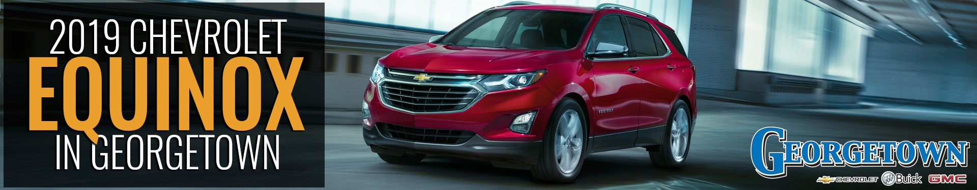 Discover the new 2019 Chevrolet Equinox in Georgetown and the Greater Toronto Area from Georgetown Chevrolet, new SUV in the GTA